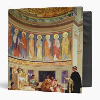 St John Chrysostom  exiled by Empress Eudoxia 3 Ring Binder
