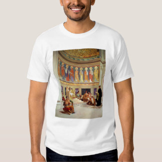 St John Chrysostom  exiled by Empress Eudoxia T Shirt