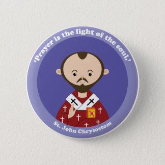 St. John Chrysostom Pinback Button