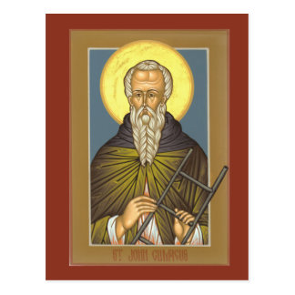 St. John Climacus Prayer Card