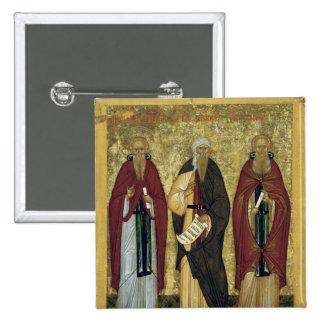 St. John Climacus  St. John of Damascus Button