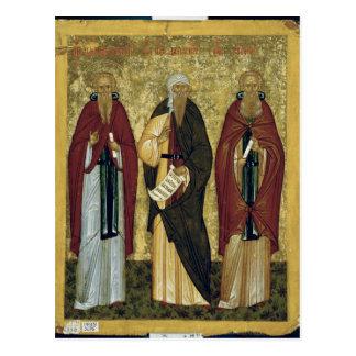 St. John Climacus  St. John of Damascus Postcard