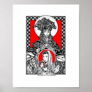 St. John Damascene Poster