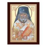 St. John de la tarjeta del rezo de San Francisco Tarjetas Postales