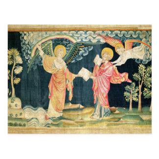 St. John Eating the Book Postcard