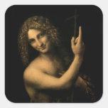 St. John el Bautista, 1513-16 Etiqueta