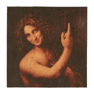 St John el Bautista de Leonardo da Vinci Posavasos