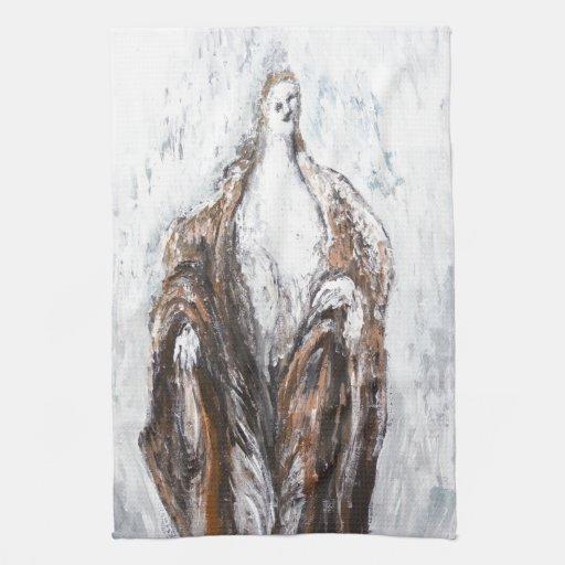 St. John el Bautista que predica en el desierto Toalla De Mano