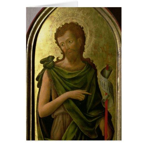 St. John el Bautista Tarjeton
