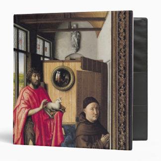St. John el Bautista y el donante