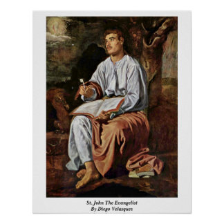 St. John el evangelista de Diego Velázquez Impresiones
