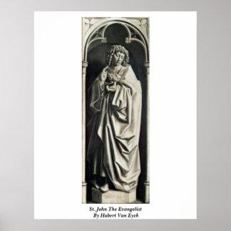 St. John el evangelista de Huberto Van Eyck Impresiones