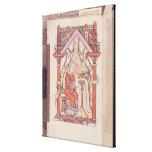 St. John el evangelista de los evangelios Lona Envuelta Para Galerías