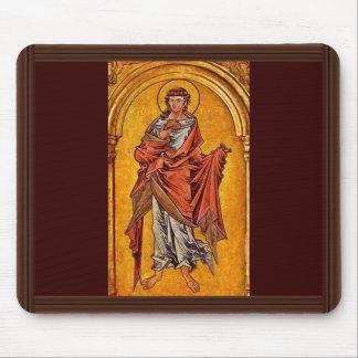 St. John el evangelista de Westfälischer Meister Alfombrillas De Raton
