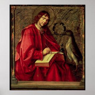 St. John el evangelista Póster