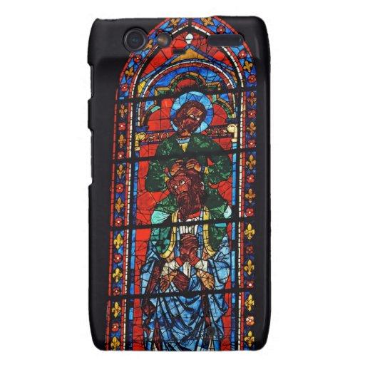 St. John el evangelista que monta los hombros de E Droid RAZR Carcasas