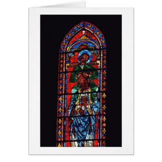 St. John el evangelista que monta los hombros de E Tarjeton