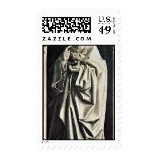 St. John el evangelista Skulpturimmitation por Sello
