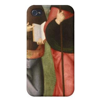 St. John el evangelista y el St Augustine de iPhone 4 Fundas
