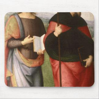 St. John el evangelista y el St Augustine de Mousepad