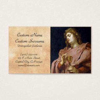 St. John Evangelist Peter Paul Rubens Business Card