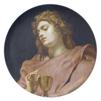 St. John Evangelist Peter Paul Rubens Dinner Plate