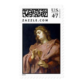 St. John Evangelist Peter Paul Rubens Stamp