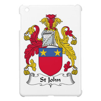 St John Family Crest Case For The iPad Mini