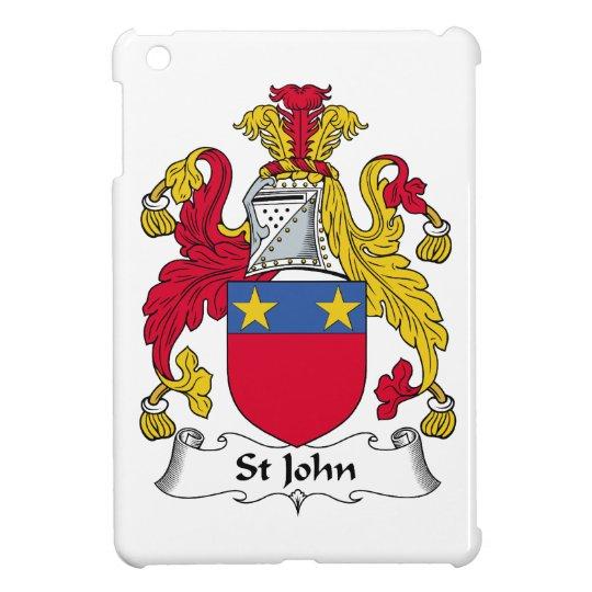 St John Family Crest Case For The iPad Mini