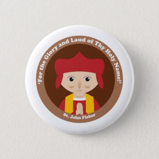 St. John Fisher Pinback Button