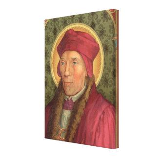 """St. John Fisher (SAU 025) 18""""x24"""" Canvas Print"""