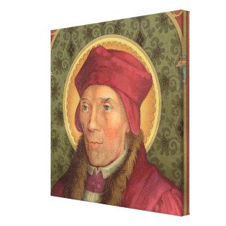 """St. John Fisher (SAU 025) 24""""x24"""" Canvas Print"""