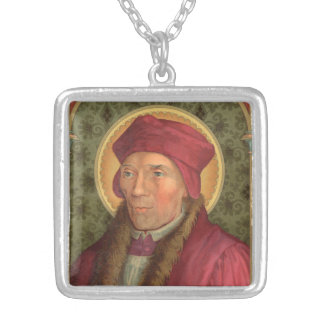 St. John Fisher (SAU 025) Silver Plated Necklace