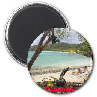 ST JOHN ISLAND Paridise Magnet