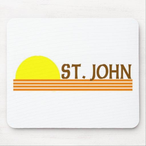 St. John, Islas Vírgenes de los E.E.U.U. Tapetes De Ratón