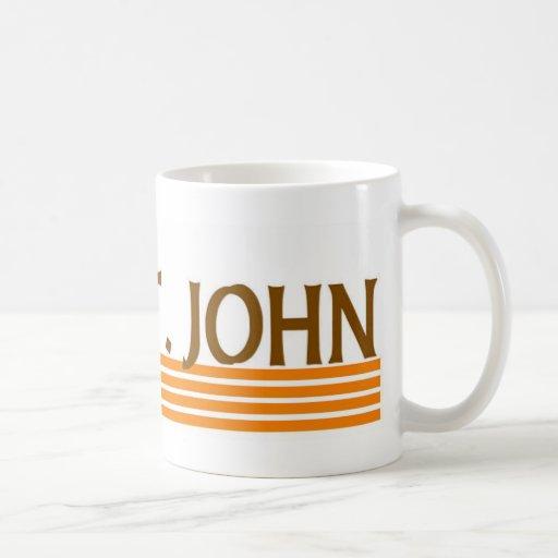 St. John, Islas Vírgenes de los E.E.U.U. Tazas De Café