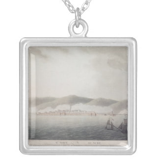 St. John of Acre, 1903 Silver Plated Necklace