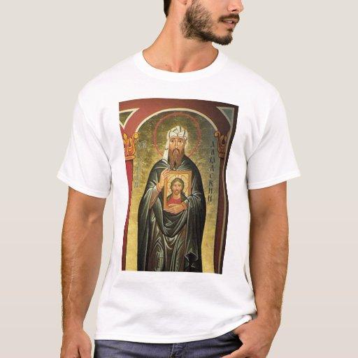 St John Of Damascus T Shirt Zazzle
