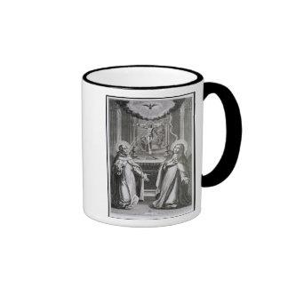 St. John of the Cross and St. Theresa of Avila Ringer Coffee Mug