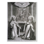St. John of the Cross and St. Theresa of Avila Postcard