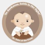 St. John of the Cross Round Sticker