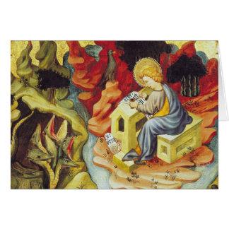 St. John on Patmos Greeting Card