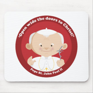 St John Paul II Mouse Pad