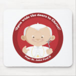 St John Paul II Mousepad