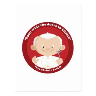 St John Paul II Postcard