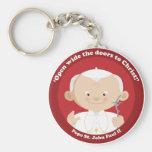 St John Paulo II Llaveros Personalizados
