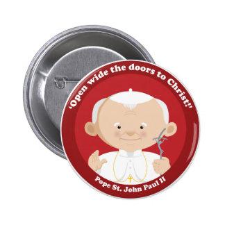 St John Paulo II Pin Redondo 5 Cm