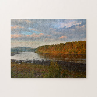 St. John River at the Narrow Gauge in St. Francis Jigsaw Puzzle