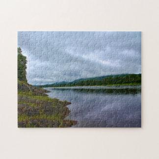 St. John River, St. Francis, Maine Jigsaw Puzzle