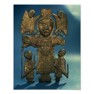 St John s Crucifixion Plaque late 7th Century Posters